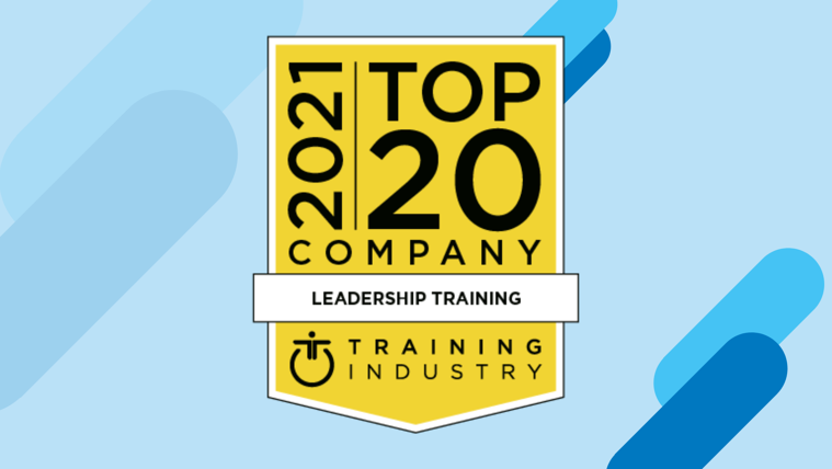 Blue Ocean Brain Selected as a 2021 Top 20 Leadership Training Company