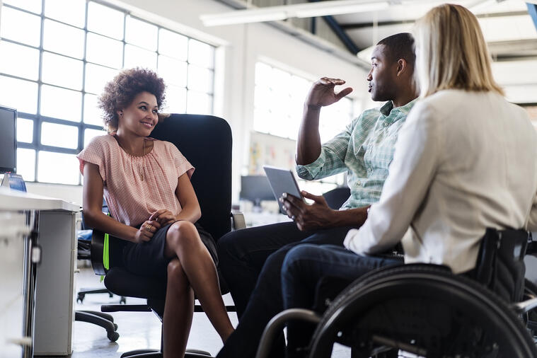 The Language of Disability in the Workplace
